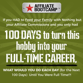 100 Days to an Affiliate Marketing Career